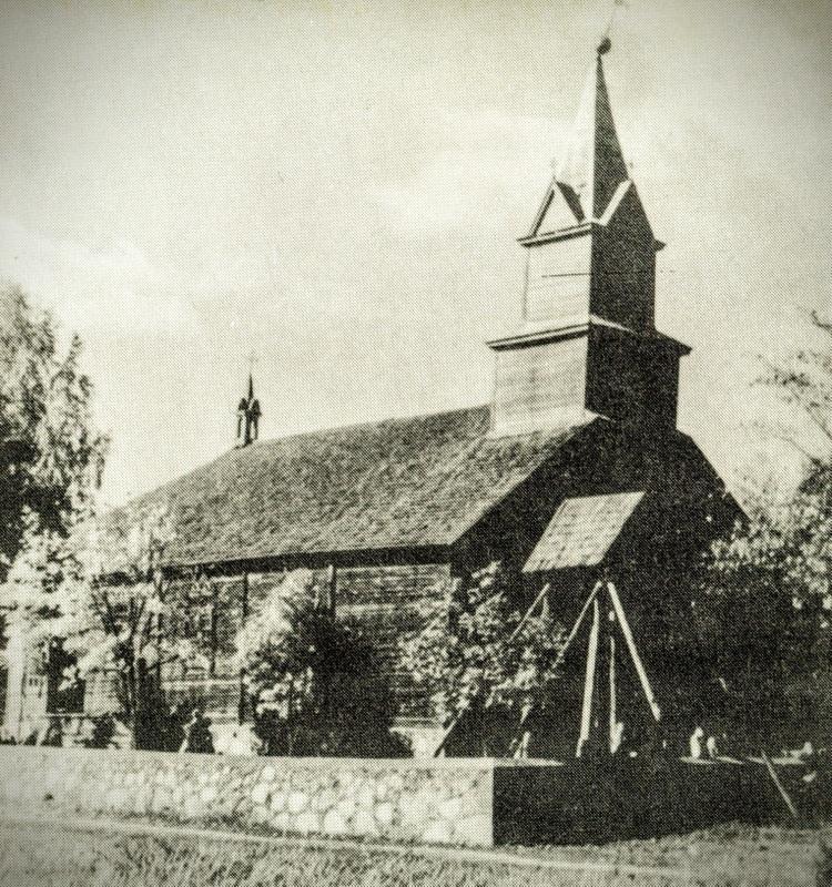 Baltriškių bažnyčia 1956 m.