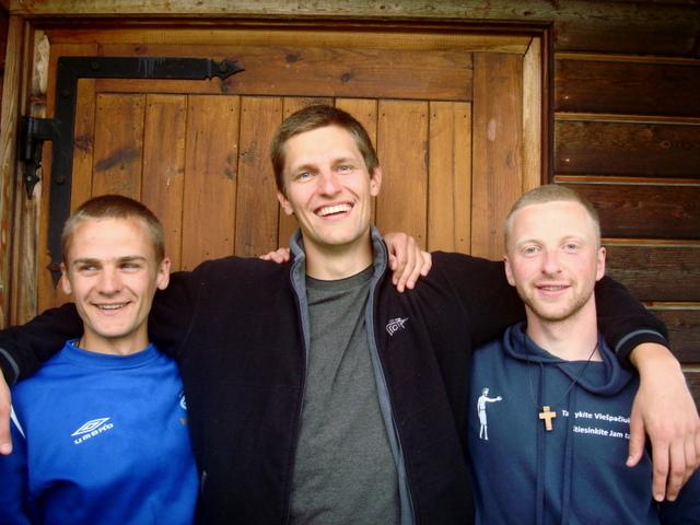 Martynas, Linas ir Tadas